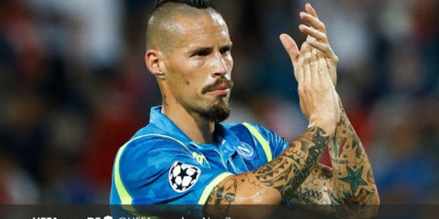 Napoli Resmi Melepas Marek Hamsik ke Klub Liga China Dalian Yifang