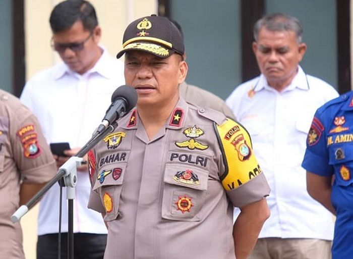 Kapolda Sulbar Brigjen Pol Drs. Baharudin Djafar, M.Si