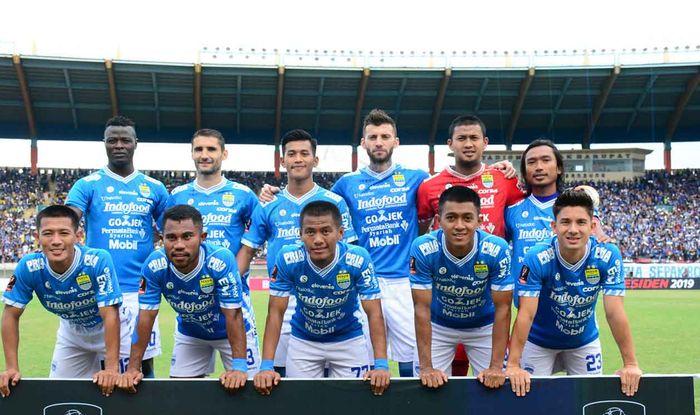 Skuat Persib Bandung di Piala Presiden 2019.
