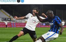 Hasil Liga Italia - Ivan Perisic Kesakitan Usai Cetak Gol, Inter Milan Menjauh dari AC Milan