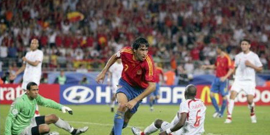 LAGA KLASIK - Gol Spesial Pangeran Madrid untuk Perpisahan Spanyol