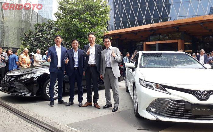Toyota resmi luncurkan Camry baru