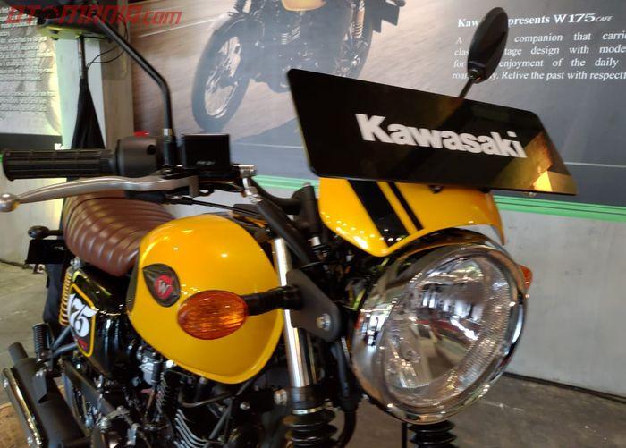 Visor kecil Kawasaki W175