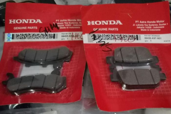 Kampas rem Honda PCX.