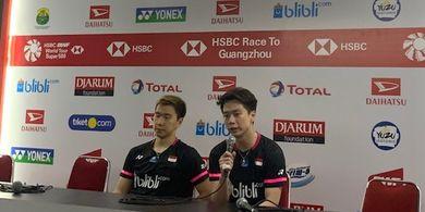 Indonesia Masters 2020 - Marcus/Kevin Sempat Terkecoh Tempo Ahsan/Hendra