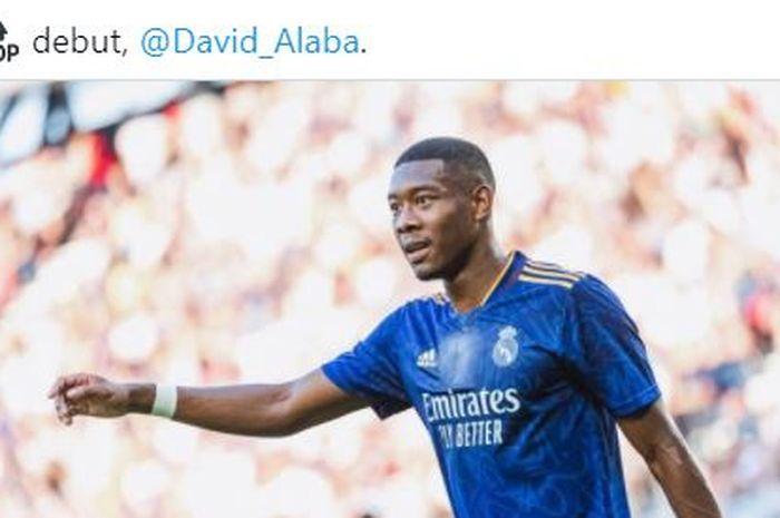 Pemain baru Real Madrid, David Alaba.