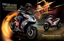 Yamaha Aerox di Thailand Pamer Warna-warna Unik, Inspirasi Game AOV