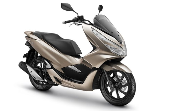 All New Honda PCX 150 Glamour Gold