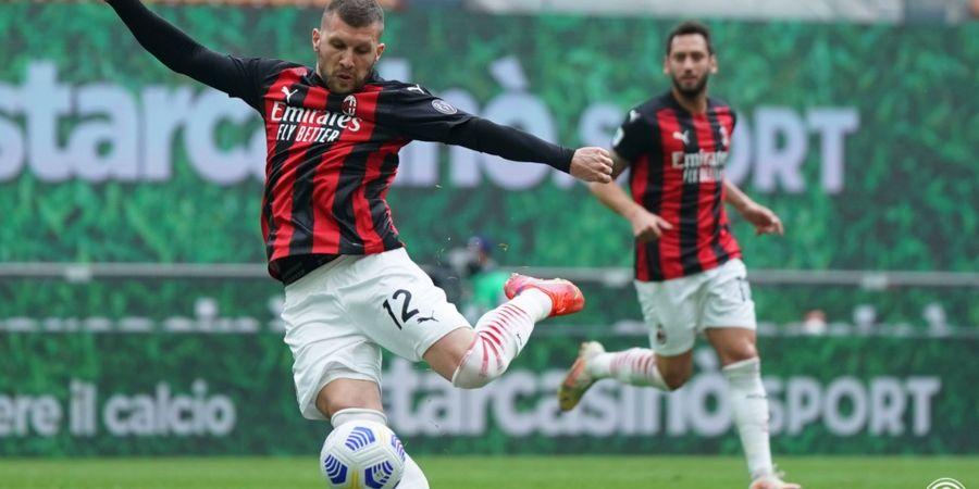 Dibobol Mantan,  AC Milan Ditahan Imbang 1-1 Genoa di Babak I