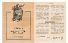 Masuk Pasar Lelang, Buku Panduan Apple-1 Dihargai Lebih Dari $10.000