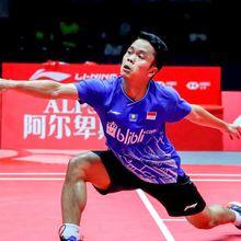 Hasil BWF World Tour Finals 2019 - Kalahkan Chen Long, Anthony Ginting Lolos ke Final!