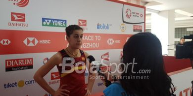 China Open 2019 - Menangi Rubber Gim, Carolina Marin Sabet Gelar Juara