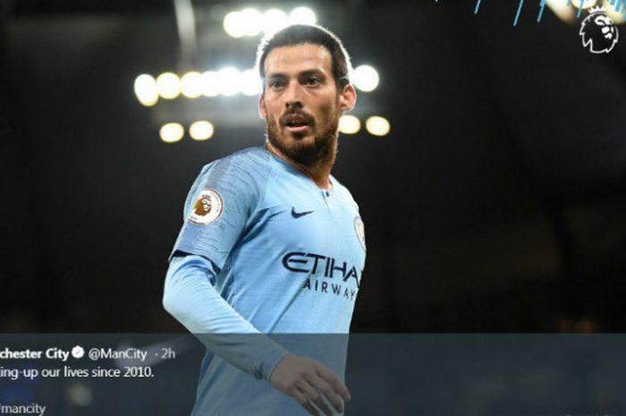 Gelandang Manchester City, David Silva, meyakini timnya akan sukses di musim ini untuk merebut titel juara Liga Inggris karena faktor sejarah.