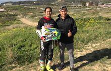 Otorace : Sheva Ardiansyah Latihan Balap di Spanyol Jajal Trek Pasir