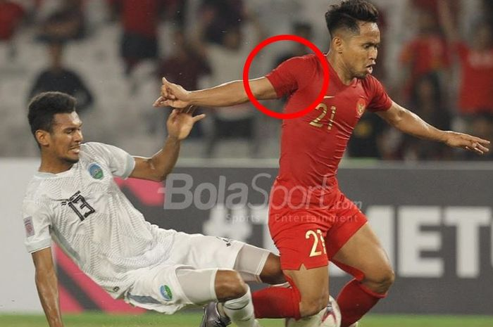 Kejanggalan di jersey Timnas Indonesia di Piala AFF 2018, jersey tampak tidak memakai patch Piala AF