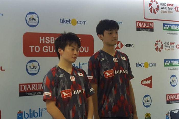 Gnada putra Jepang, Takuto Inoue/Yuki Kaneko.