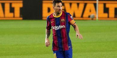 VIDEO - Ekspresi Kekecewaan Lionel Messi kepada Ansu Fati