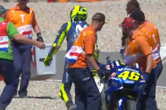 Valentino Rossi di FP4 MotoGP Belanda a3a695ff44