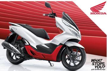 Honda Thailand Rilis Warna Baru All New Pcx 150 Dual Tone Color Bro