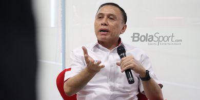 PSMS Medan Mengadakan Pertemuan dengan Ketua Umum PSSI, Ada Apa ?