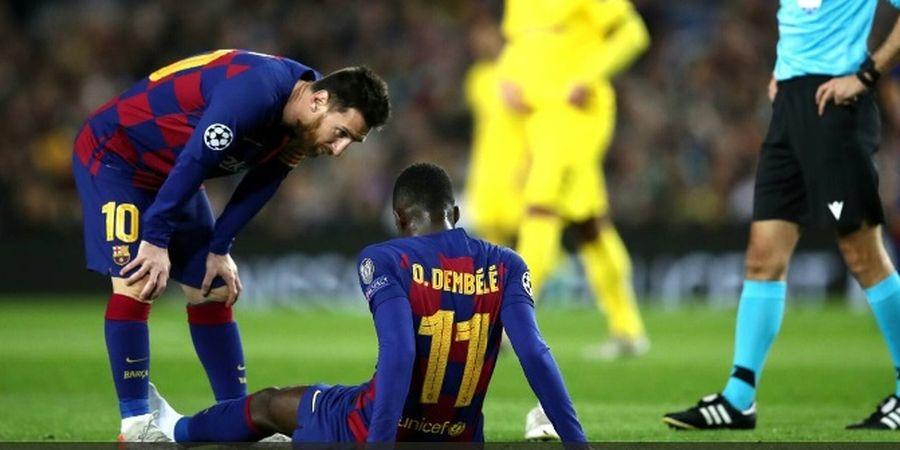 Barcelona Vs Bayern Muenchen - Setien Sebut Dembele Bisa Main, tapi..