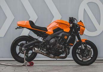 Futuristik tapi Keren, Yamaha MT-10 Dipaksa Ganti Aliran Jadi Cafe Racer