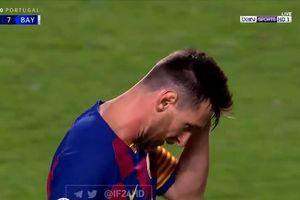 Dipermalukan Muenchen, Ekspresi Lionel Messi Isyaratkan Masa Depannya!