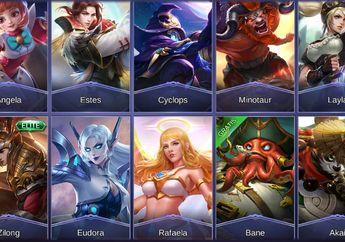 Gokil! Ternyata Total Hero Mobile Legends akan Berjumlah Hingga 150