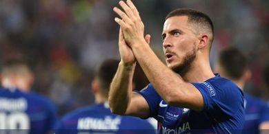 Musim Depan, Nomor Punggung Hazard di Chelsea Sudah Ada Pewarisnya