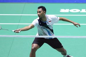 Hasil Denmark Open 2019 - Langkah Tommy Sugiarto Mandek di Tangan Kento Momota