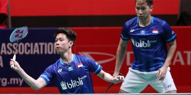 Hasil Final Indonesia Masters 2020 - Menangi Derbi Merah Putih, Minions Rebut Gelar Juara