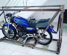 Video Motor Yamaha RX-King  Dikrangkeng Seperti Mau Dimesiumkan
