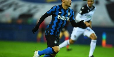 Babak I Liga Italia - Gol Martinez Dianulir, Inter Milan Ditahan Imbang 0-0