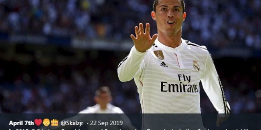 VIDEO - Quantrick Bersejarah Cristiano Ronaldo di Kandang Real Madrid
