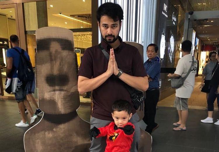 Bangunkan Raffi Ahmad dengan Cara Lucu, Aksi Rafathar Ini Bikin Gemas