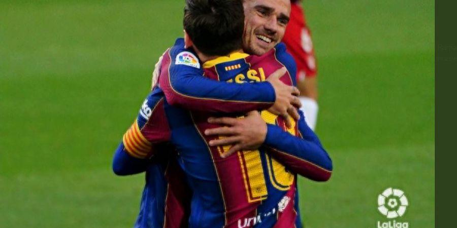 Putaran Maut Griezmann ke Messi Tak Cukup Bawa Barcelona Puncaki Klasemen Barang Sepekan Saja