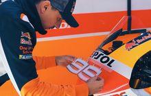Otorace: Jorge Lorenzo Pamer Helm Baru Jelang Tes MotoGP Qatar