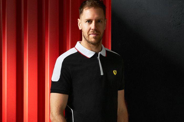 Bos Ferarri menampik kabar kepergian pembalapnya Sebastian Vettel.
