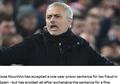 Jose Mourinho Tunjukkan Rasa Bangga ketika Namanya Dinyanyikan Fan Real Madrid