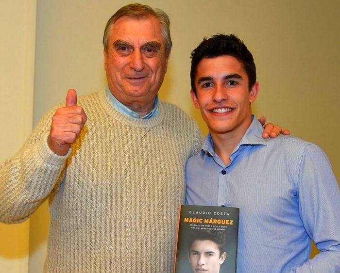 Dokter Claudio Costa dan Marc Marquez