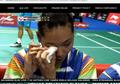 Singapore Open 2019 - Mata Kanan Gloria Emanuelle Widjaja Terkena Smash, Netizen Bersedih!