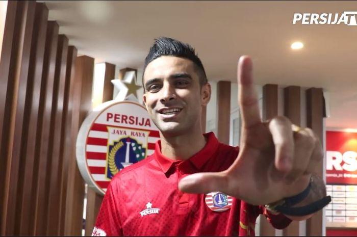 Otavio Dutra resmi jadi bagian Persija Jakarta, Selasa (31/12/2019).
