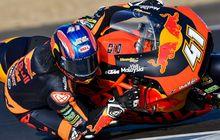 Tes Moto2 Jerez: Brad Binder Tercepat, Dimas Ekky Masih Kesulitan