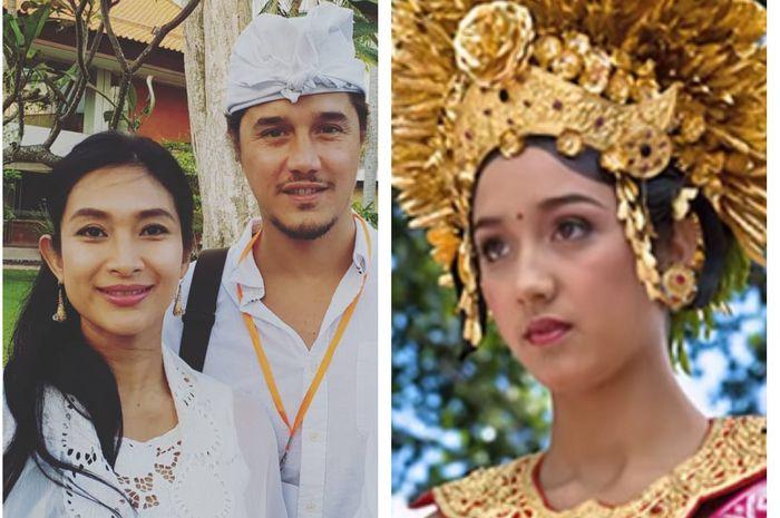 Kecantikan adik ipar Happy Salma yang rela menanggalkan gelar Putri Ubud Bali demi menikahi pria yang dicintai