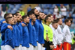 EURO 2020 - Panen 7 Gol di Penyisihan Grup, Timnas Italia Ganas Lagi
