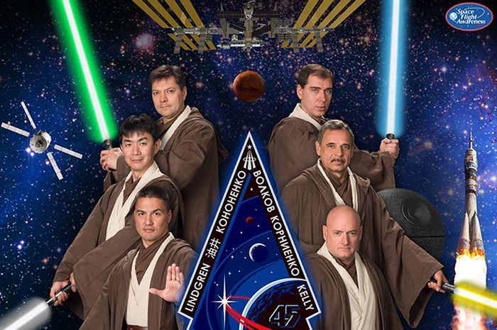Poster misi luar angkasa NASA