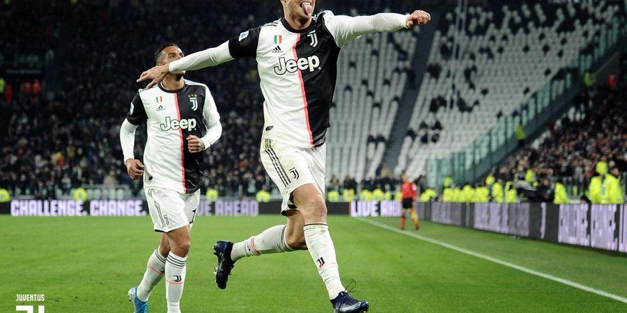 Pemain Liga Italia Sunat Gaji untuk Virus Corona, Ronaldo Bisa Sumbang Rp2 Miliar