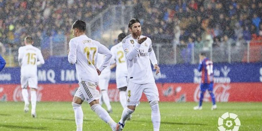 Dua Penalti, Real Madrid Unggul Tiga Gol atas Eibar di Babak Pertama