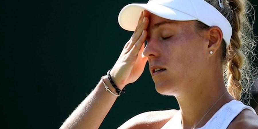 Wimbledon 2019 - Angelique Kerber Tambah Panjang Daftar Unggulan 10 Besar yang Tereliminasi