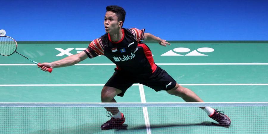 China Open 2019 - Anthony Sinisuka Ginting Diminta Tingkatkan Fokus dan Pertajam Strategi